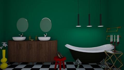 BATHROOM - Eclectic - Bathroom  - by kristianvalchev