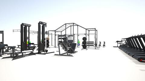 New Gym  - by rogue_c9a4635bf2f560a1e237003b24e9d