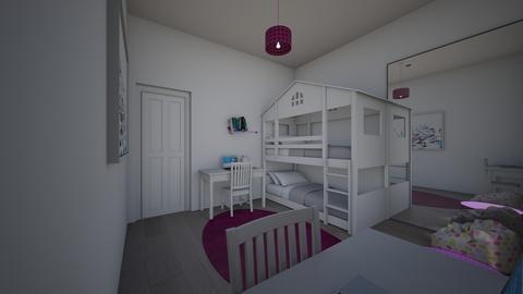 Girls bedroom 2 - by saratevdoska