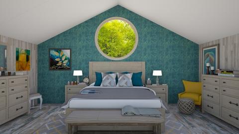 nest - Bedroom - by de_kan
