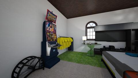 Soham Doshi Bedroom - Modern - Bedroom  - by sohammoume