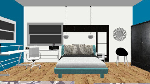 Chic Work Space - Bedroom - by Lgswaile