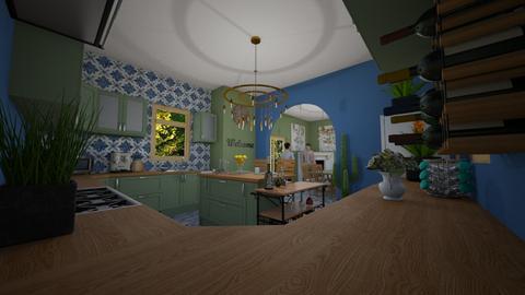 eclectic kitchen - Kitchen - by angela18076