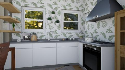 Science Eco House - Kitchen  - by Singson123