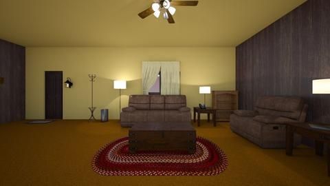 Country Living Room - Living room  - by WestVirginiaRebel
