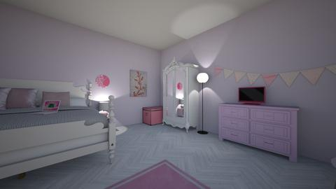 bn bedroom - Bedroom  - by MadisonKeith1
