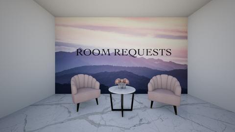 Room Requests - by cagla_deniz_