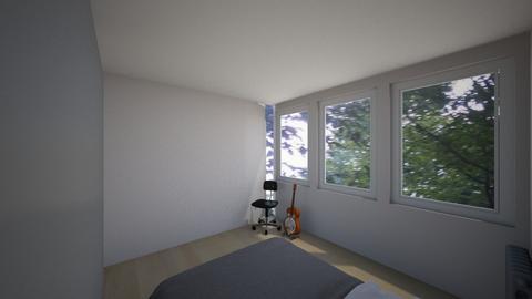 zid popravljen - Living room  - by sinemarb