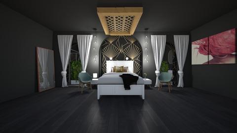 Ge0 - Modern - Bedroom  - by evabarrett