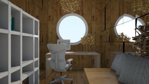 Nakagi Capsule Room offic - Modern - Office  - by wagner herbst padilha
