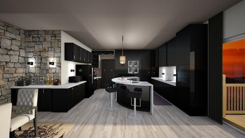 Modern Kitchen - Kitchen  - by snowbear365