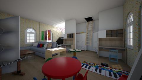 Modern but funky kid room - Modern - Kids room - by Jessica098