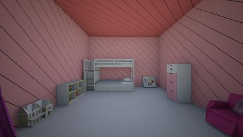 Girl room for a kid - Kids room  - by Soccergirl2711