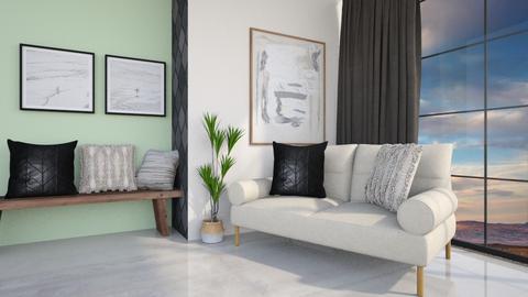 Mavi - Living room  - by Meghan White