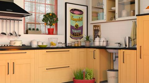 Kitchen - Eclectic - Kitchen  - by Sally Simpson