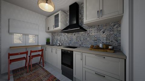 plan Ana kitchen - by Gudicel