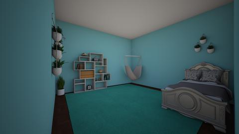 little bedroom - Bedroom  - by isabellaklein