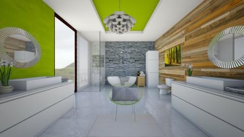 Modern Bathroom - Modern - Bathroom  - by bgref