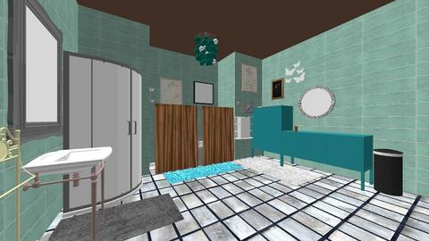 T and M Bathroom - Bathroom - by MGOutdoorgirl