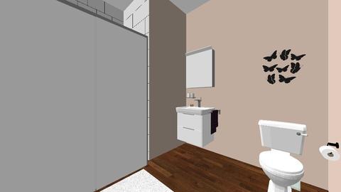 GuestBathroom - Glamour - Bathroom  - by lydiag123