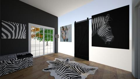 zebra entry - by CamKreider