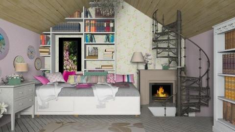 Treasure - Vintage - Bedroom  - by Laurika