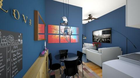 condo 2 - Modern - Dining room - by edjsueno