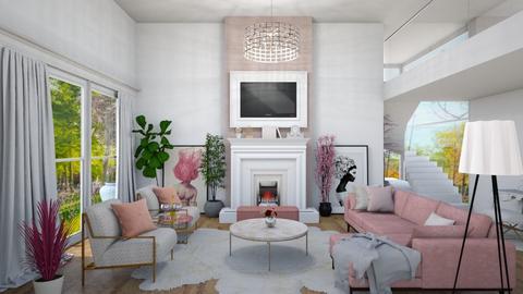 Glamour living - Feminine - Living room - by Mesehabbal