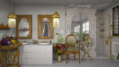 oriental kitsch  - Modern - Bathroom  - by Ida Dzanovic