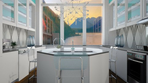 See Thru - Modern - Kitchen - by channing4