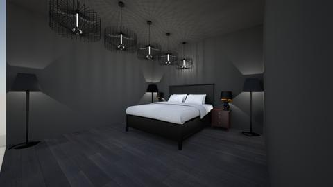 goth - Masculine - Bedroom - by the ice magical unicorn