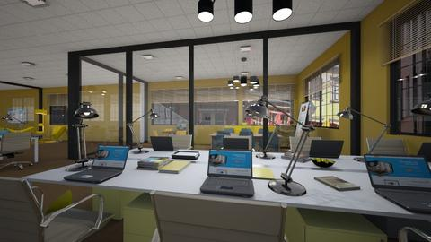 Yellow Office Contest - Office  - by mikaelahs