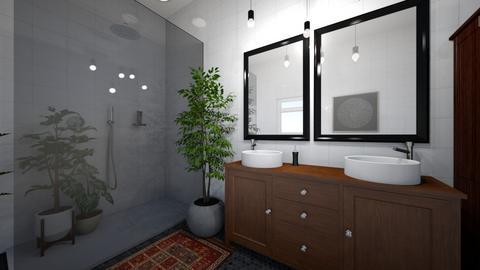 midcentury modern - Bathroom - by blackdaisies