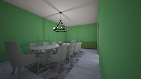 mansion dining - Dining room - by cinderella1111