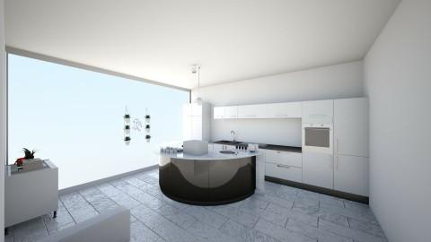 Modern Kitchen - Modern - Kitchen - by KKIsCrazyAF