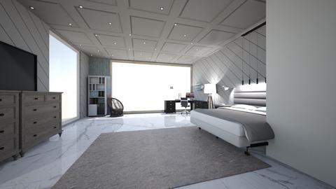 greek bedroom - Bedroom  - by Esaiaswarfield0909