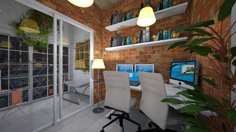 studio kitchen 3 - Minimal - Kitchen - by BlokhEphroni