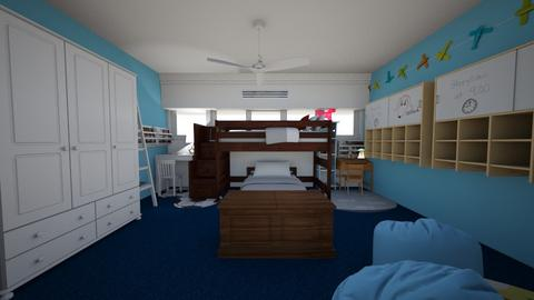 Shared Bedroom  - Kids room  - by jmath57