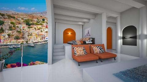 greek room - Bathroom  - by Amyz625
