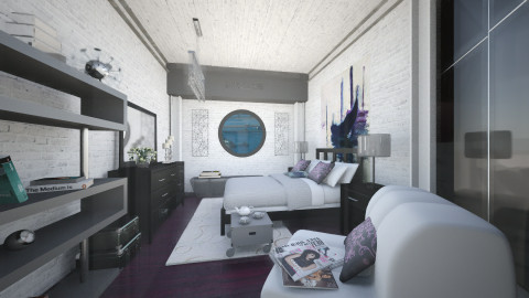 NInL - Modern - Bedroom  - by Saj Trinaest