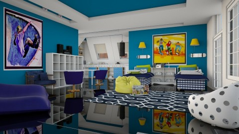 patin - Kids room - by pachecosilv