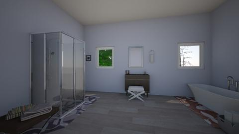 Flower Bathroom - Modern - Bathroom  - by valentena