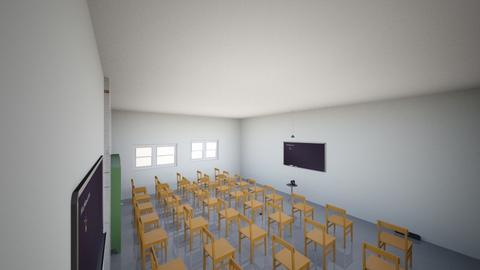 Classroom design with cam - Classic - by oscmar13