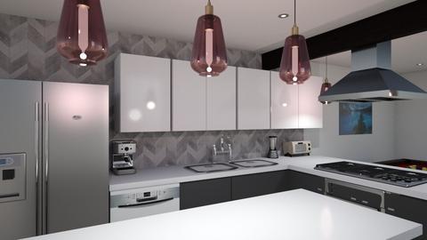 Kitch v5 cab 4 floor5 - Kitchen  - by kurtwise