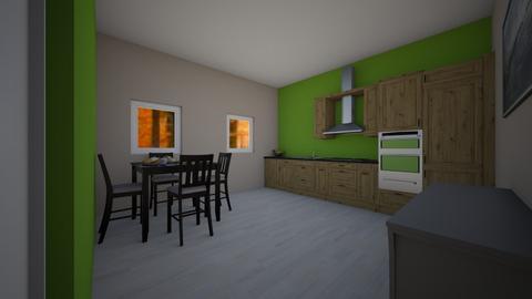 WELCOME - Kitchen  - by Noa Jones