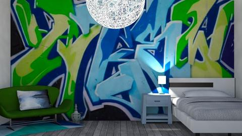 Graffiti Kid - Bedroom  - by Riordan Simpson