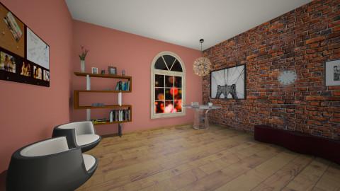 Frineds Hangout room - by Megan Kndsen
