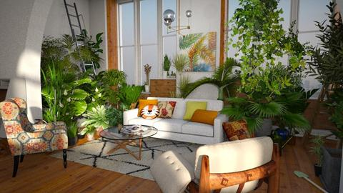 living in jungle - Modern - Living room  - by jjannnii