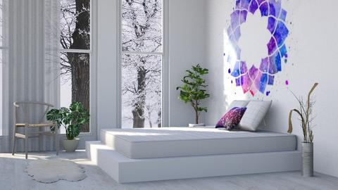 Mandala - Modern - Bedroom  - by millerfam