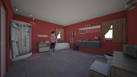 Pink Bathroom - Bathroom  - by ashleycdean